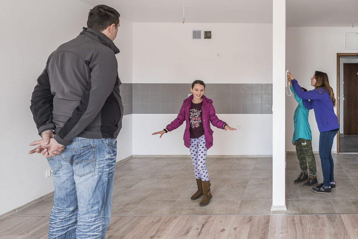 Pierwsze rodziny obejrzały wałbrzyskie Mieszkania Plus